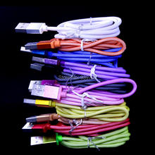 1m 3FT mesh fabric nylon net 8pin cable Accessory Bundles for iphone 5 5s 6 6plus suit for ios 8