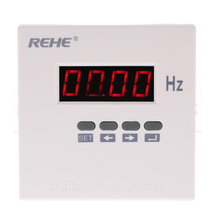 96*96mm Programmable Frequency Meter High Accuracy frequency counter Digital Single Phase AC frecuencimetro cymometer AC220V50Hz
