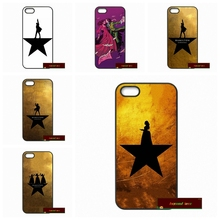 Broadway Cast Hamilton Phone Cases Cover For iPhone 4 4S 5 5S 5C SE 6 6S 7 Plus 4.7 5.5      #HE1782