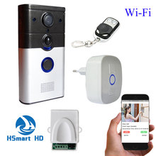 WiFi Wireless 3G/4G HD Video Door Phone intercom peephole Camera Remote Unlock IR Night Vision PIR Alarm Android IOS smart home(China)