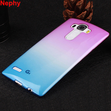 Nephy Soft TPU Gradient Color Cover Case For LG G3 G4 G5 SE D855 D857 D852 H815 H812 H850 G 3 4 5 Dual Ultrathin Transparent(China)