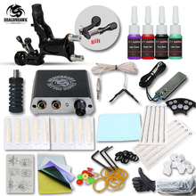 Beginner Tattoo Kit Set 1 Rotary Tattoo Machine Professional Tattoo kit Accessories(China)