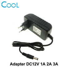 DC12V Adapter AC100-240V Lighting Transformers OUT PUT DC12V 1A / 2A / 3A Power Supply for LED Strip.