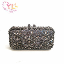 Women Vintage Evening Bags Purses Evening Bags Purses on AE Evening Bag Clutch Stones Crystal Glass Stone Bag Day Clutch YLS-F91(China)