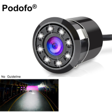 Waterproof Car Backup Camera HD Color CCD Reverse Rear View Camera 8 LED Night Vision 170 Degree Parking System (No Guide Line)