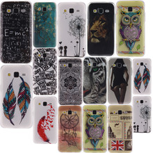 Owl Cartoon Printing Soft Silicone TPU Case Cover For SAMSUNG GALAXY Pocket 2 Ace 4 Nxt Lite Core Lte Plus Greand Prime Neo Duos(China)