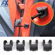 AX FOR FORD FIESTA FOCUS MK3 ECOSPORT V40 DOOR LOCK COVER CHECK ARM STOPPER LOCK HINGE CAP CASE(China)
