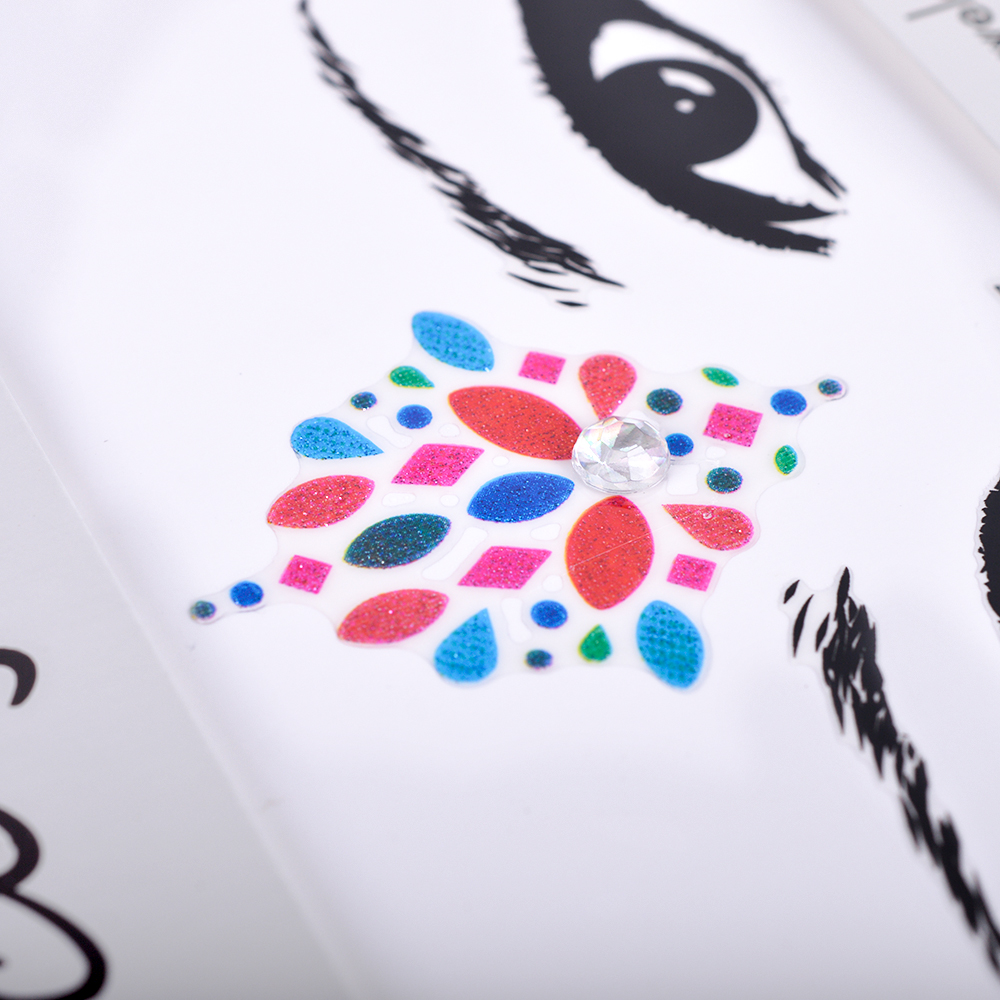 Eye Face Tattoo (6)