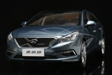 Diecast Car Model 2015 Hyundai All New Sonata 9 1.6T 1:18 (Blue) + SMALL GIFT!!!