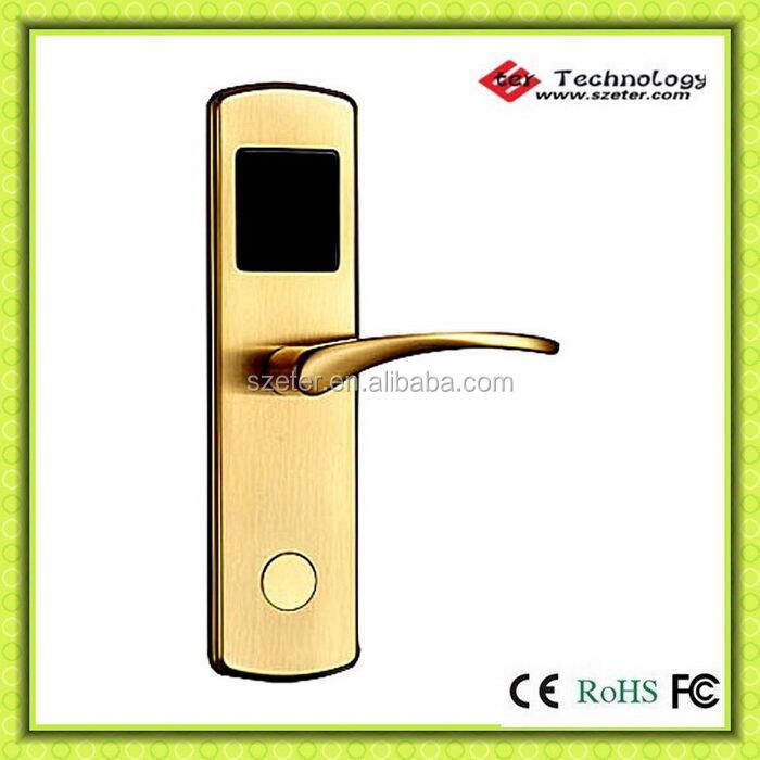 Keyless Hotel Room RF Card Hotel Door Locks for  system ET600RF<br><br>Aliexpress