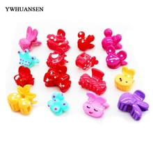 YWHUANSEN 20pcs/lot Cute kids hair claws Popular hair accessories Nice girls hair clips Hot-sale Barrette Top-end Hairgrips(China)