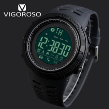 Original Brand Bluetooth Smart Sports Watches Remote Camera LED Digital Watch Outdoor Pedometer Distance 5ATM Swim Wristwatch