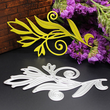 Metal Steel Bud Sprout Scrapbooking Die Cuts Craft Decorative Embossing Folder Suit Cutting Dies Paper Cards Template