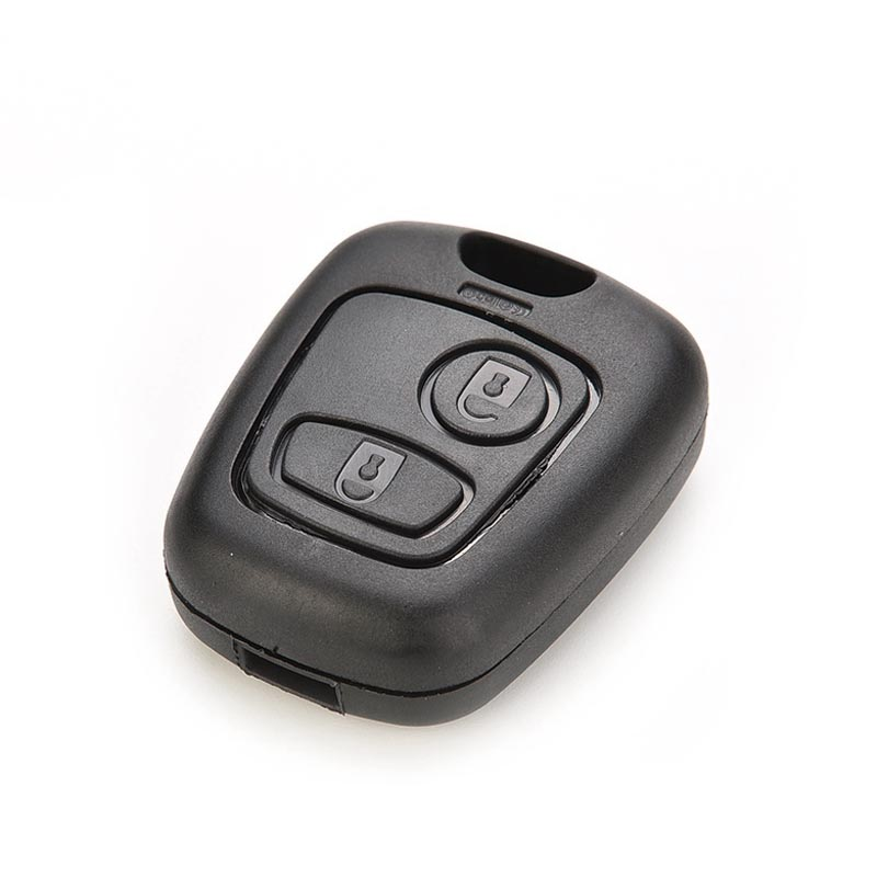 Replacement Car Key Case 2 Buttons Remote Key Case Shell Cover Housing Fob for Peugeot 107 207 307 407 106 206 306 406 CSL2017(China (Mainland))