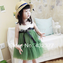 Kids Baby Girls beach DressToddler girls summer clothes clearance 2-7y toddler girls clothing(China)