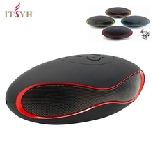 ITSYH Olive Bluetooth Speaker Portable Wireless Computer Sound Bar Subwoofer Tweeter Audio Sound Speakers for cell Phone  TW-827