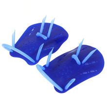 Adjustable Swimming Trax Paddles Fins Flippers Webbed Training Pool Diving Hand Gloves for Men Women Swimming Diving Accessories(China)