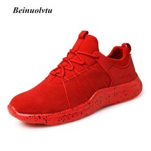Newest Outdoor Light Sneakers men sports shoes Breathable Sneakers Trainers Red Running shoes for men