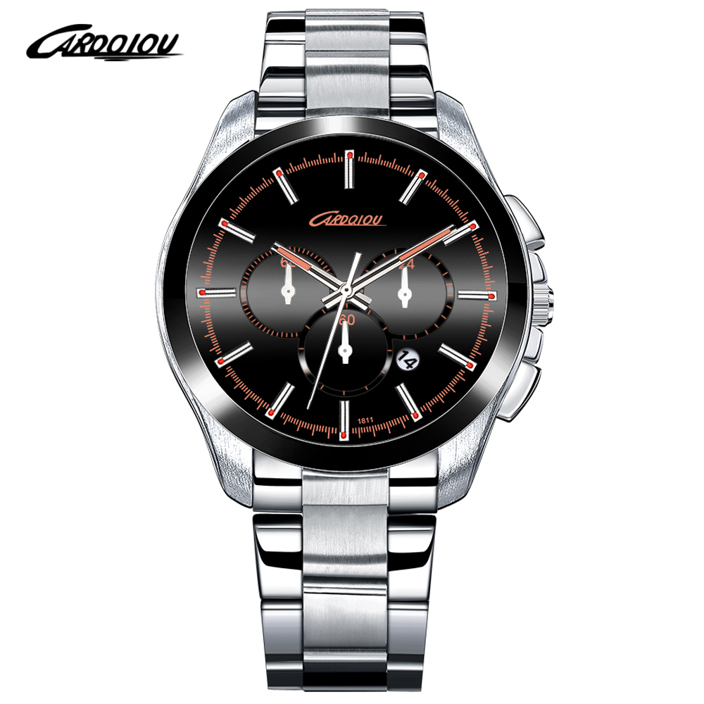Top Brand Luxury Quartz Men Watches High Quality Solid Stainless Steel Men Clock Waterproof Calendar Wristwatches Heren Horloge<br><br>Aliexpress