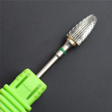 "1 Pcs Sliver Nail Files 3/32"" Carbide Nail Drill Bit For Common Electric Predicure Machine Remove Feet Gel"