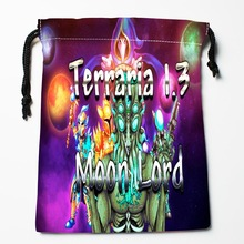 Best Terraria Drawstring Bags Custom Storage Printed Receive Bag Compression Type Bags Size 18X22cm Storage Bags(China)