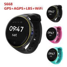 Newst S668 S668 Y3 Q50 SOS Smart Watch Android Wristwatch Bluetooth 4.0 GPS+AGP+LBS+WiFi Pedometer Voice chat Smartwatch Phone(China)
