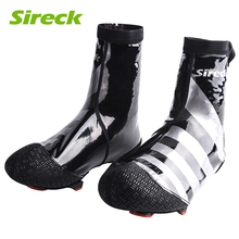 Sireck Waterproof Cycling Shoe Covers MTB Road Bike Shoe Cover PU Bicycle Overshoes Sports Shoe Galocha Copriscarpa Ciclismo(China)
