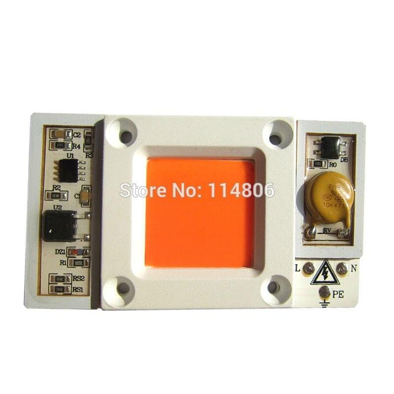 1pcs 30W 50W Waterproof Full Spectrum 400nm ~ 840n...