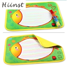 HIINST Water Drawing Painting Writing Mat Board & Magic Pen Doodle Toy Gift 29X19cm june 5 P30 Ag15 gift(China)