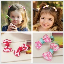 gift boutique barrettes for ribbon children baby  bow hairclip for girls hairpins hair clips bow accessories headdress Hairgrips