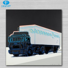 Truck 1985 pop art print Wall Painting picture Home abstract Decorative Art Picture Prints no frame