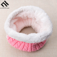 2018 New Fashion Children Scarf For Kids Winter Scarf For Baby Brand Scarf Kids Warm Boy Girl Knit Neck Wholesale/Retail(China)