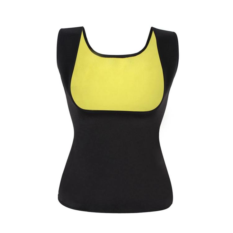 Palicy Women's S-2XL Sauna Vest Suit Neoprene Body Shaper Thermo Ultra Sweat Waist Trainer Female Tummy Control Belly Girdle 11