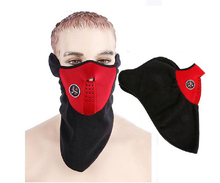 1PC Dustproof Neoprene Neck Warm Half Face Mask Winter Sport Accessories Windproof Bike Bicycle Cycling Snowboard Outdoor Masks(China)