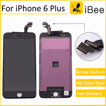 5pcs OEM Quality AAA No Dead Pixel For iPhone 6 Plus LCD Screen With Touch Digitizer Display Assembly Replacement Free DHL