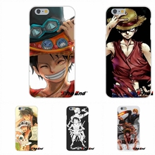 Japan anime One Piece Monkey D Luffy Silicone Phone Case For Huawei G7 G8 P8 P9 Lite Honor 5X 5C 6X Mate 7 8 9 Y3 Y5 Y6 II