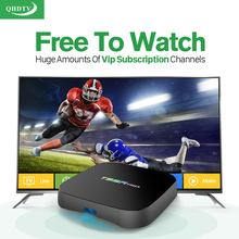 Dalletektv T95Rpro Android 6.0 TV Box Amlogic S912 2/8GB 4K 2K HD Smart Set Top Box Free 1300 IPTV Channels Europe Arabic UK