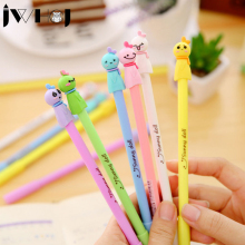 2 pcs kawaii Sunny doll gel pen writing pens stationery caneta material escolar office school supplies papelaria Free shipping