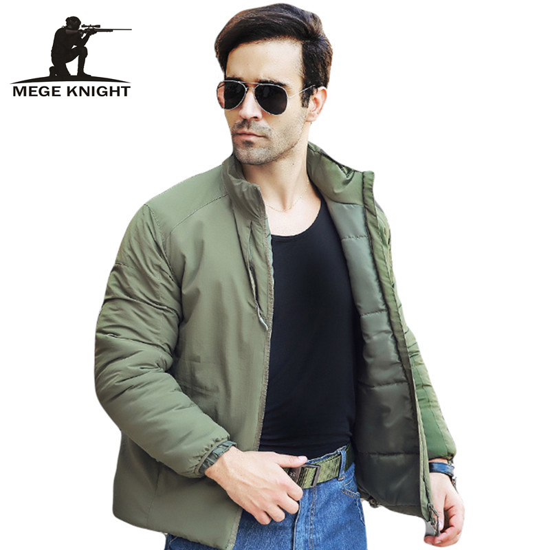 MEGE Men Casual Warm Jackets Winter Thermal Thicken Windproof Coat, Mens Tactical Army Hunt clothing Lightweight ParkasОдежда и ак�е��уары<br><br><br>Aliexpress