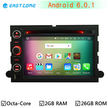Android 6.0.1 Octa Core 2GB RAM 32GB ROM Car DVD Player For Ford Expedition F150 F250 F350 F450 F550 Focus Explorer Radio GPS