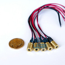 5pcs Fine Focusable 780nm 3mW 5mW Infrared IR Laser Dot Diode Module