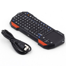 Mini Wireless Bluetooth 3.0 Keyboard Mouse Touchpad for Windows for Android for iOS Wholesale(China)