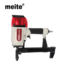 "Meite Heavy Duty 1"" Concrete n Steel Nailer Pneumatic Nail Gun CS3025 by leg length 21.3-22.7mm for decking August.7 Update Tool"