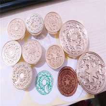 DIY Star Moon Sun Cardcaptor Sakura Power customize your logo Box set personalized Letter/Sealing Wax /wedding Wax Seal Stamp(China)
