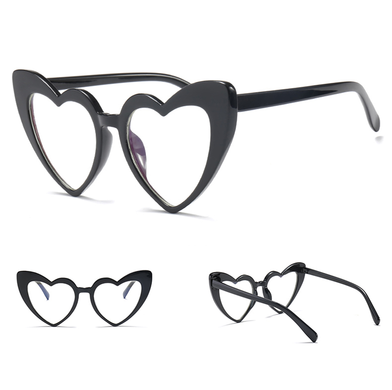 love heart sunglasses women cat eye vintage 7112 details (8)