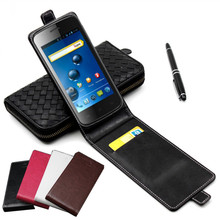 Classic Luxury Advanced Top Leather Flip Colorful Leather Case For Explay Atom Phone Cases Cover With Card Slot(China)