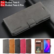 Redmi Note 6 Pro Case Leather Vintage Wallet Cases Xiaomi Redmi Note 6 Pro Case Flip Phone Case Coque Redmi Note 6 Cover