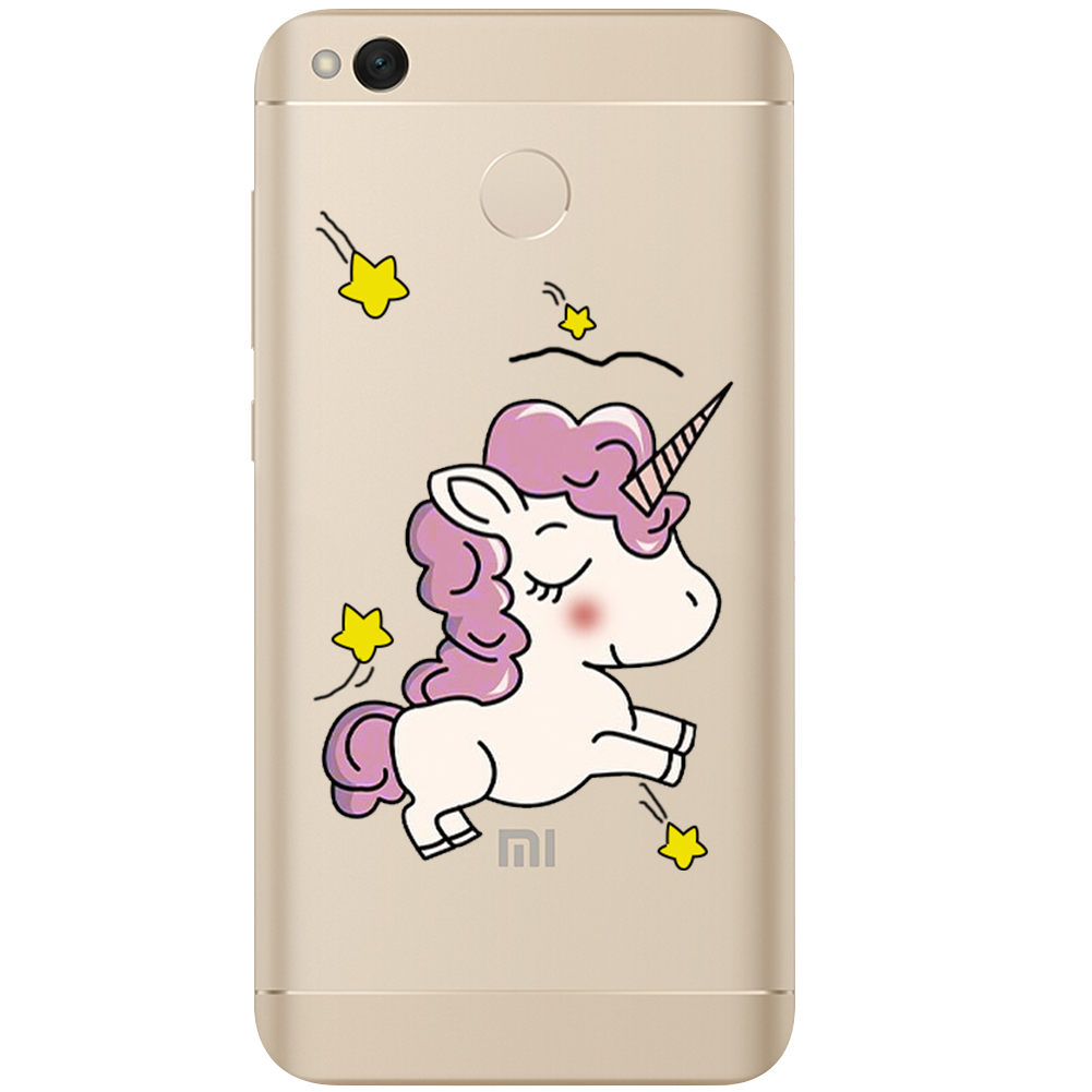 floral hoop Unicorn snowman Case For Xiaomi Redmi 3 3S 4A 4X 4 4S Note 3 Note 4 4X 5A cover