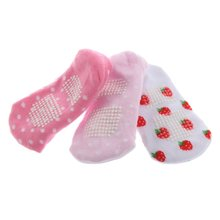 1 Pair Cute Cotton Blends Infant Toddler Boy/Girl kids Baby's Cartoon Pattern Non-slip Ankle Socks Anklet Booties Sox Shoe Rando