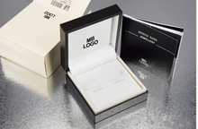 Free shipping NEW hot sell High Quality design Black MB cufflinks Box with Service Guide Book Classic Style (only boxs)